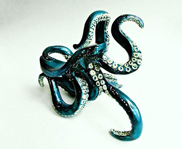 Now You Can Strut On Tentacles With These Octopus High Heels