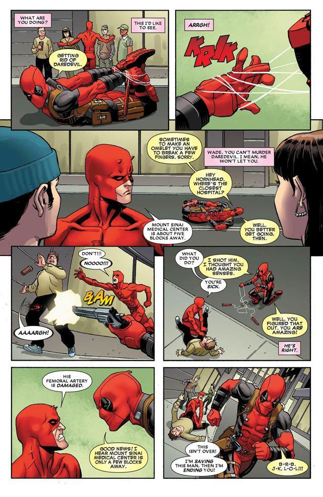 Deadpool's Funniest Comic Strips