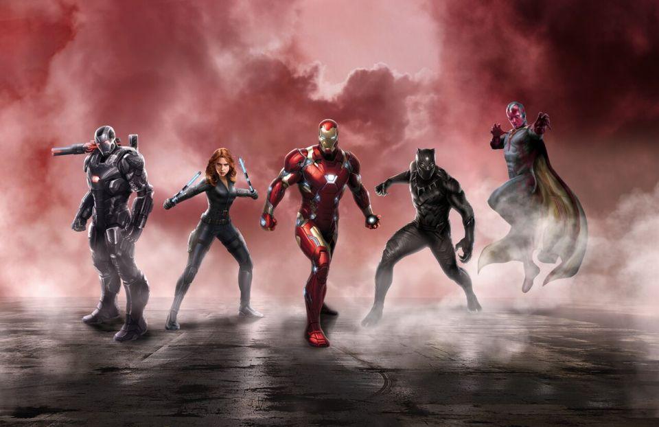 CAPTAIN AMERICA: CIVIL WAR Promo Art Confirms Superhero Teams
