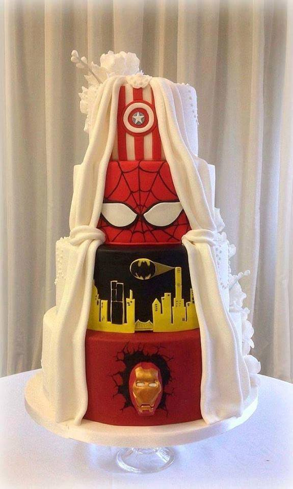 Wedding Cake With a Heroic Secret Identity