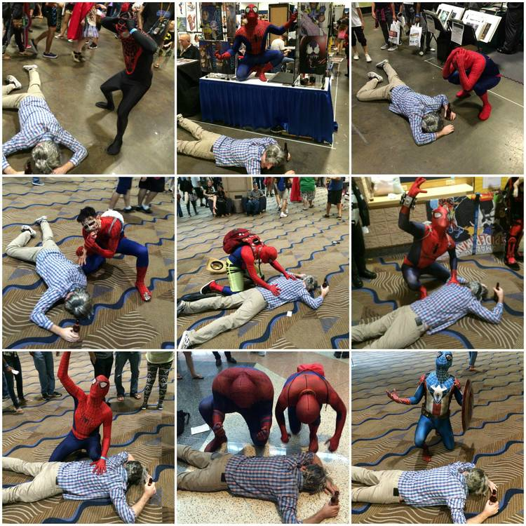 Drunk Uncle Ben Cosplay is Godsend For Spider-Man Cosplayers