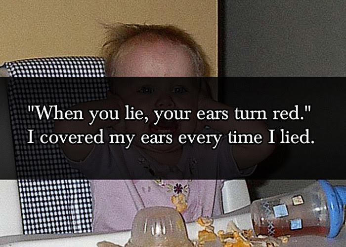 Lies By Parents To Their Kids