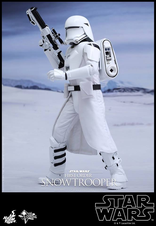 Hot Toys STAR WARS: THE FORCE AWAKENS Snowtrooper Action Figure