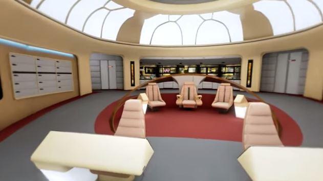 Star Trek Enterprise Virtual Reality Tour Created
