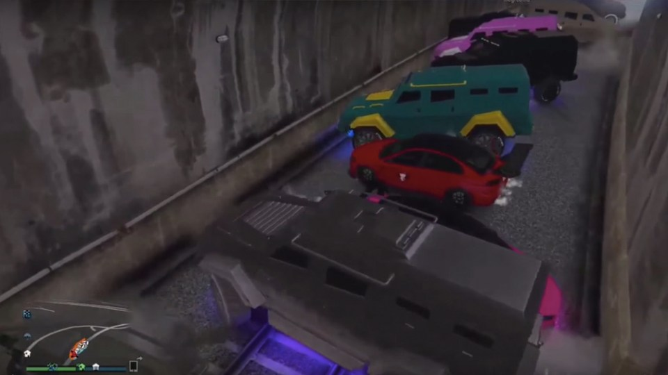 Find Out What Happens When GTA V Players Attempt To Stop The Train