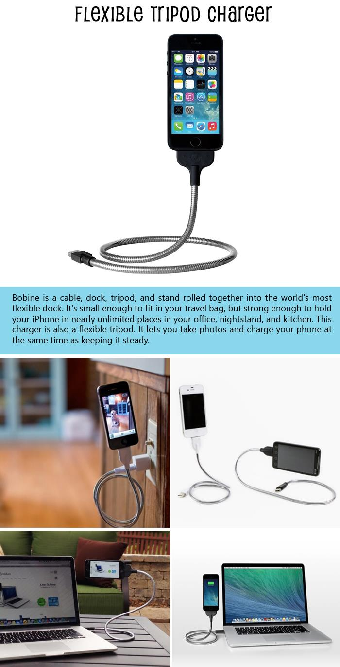 Flexible-Tripod-Charger