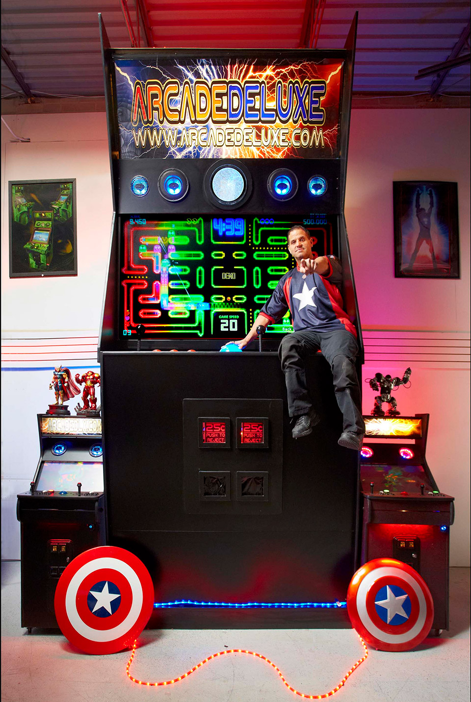 The World's Largest Arcade Machine