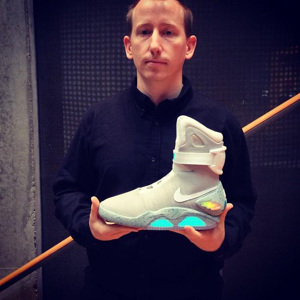 Nike's BACK TO THE FUTURE II Powerlace ShoeBecoming a Reality?