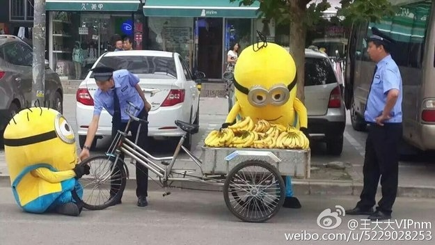 Minions Are Masterless, Jobless and Selling Bananas