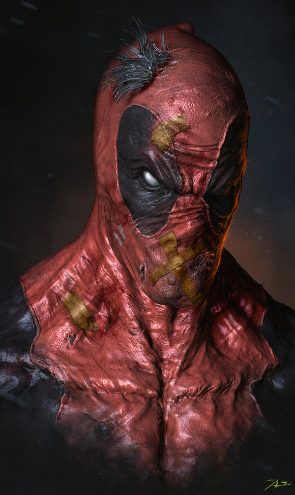 Superhero Portrait Art