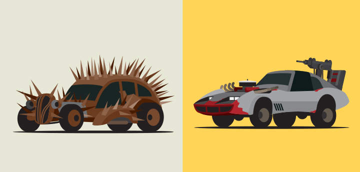 Mad World: The Vehicles of Fury Road