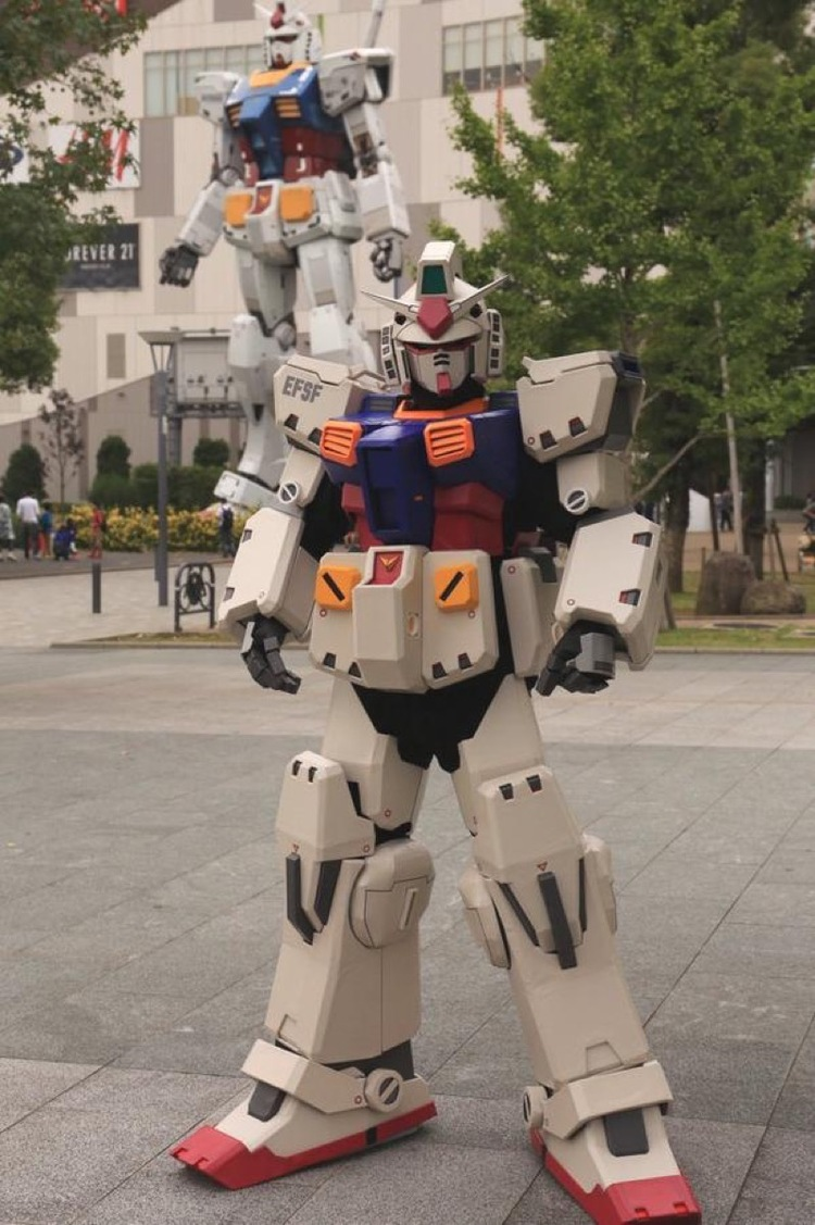 Awesome Gundam Mobile Suit Cosplay