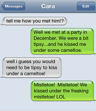 Unintentionally Dirty Texts