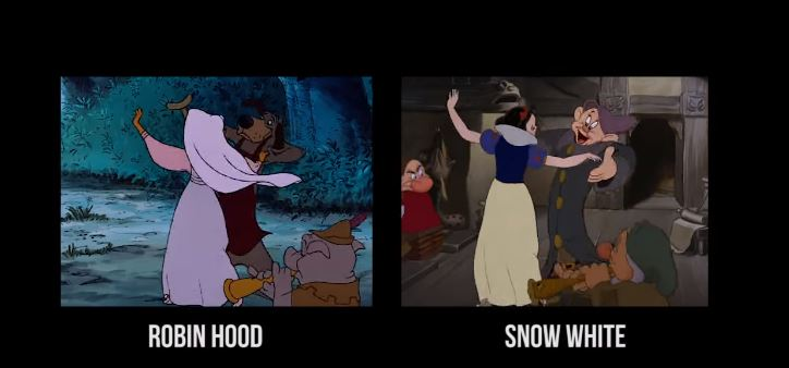 Disney Movies Recycled Animated Footage