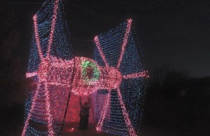 Life-Size TIE Fighter