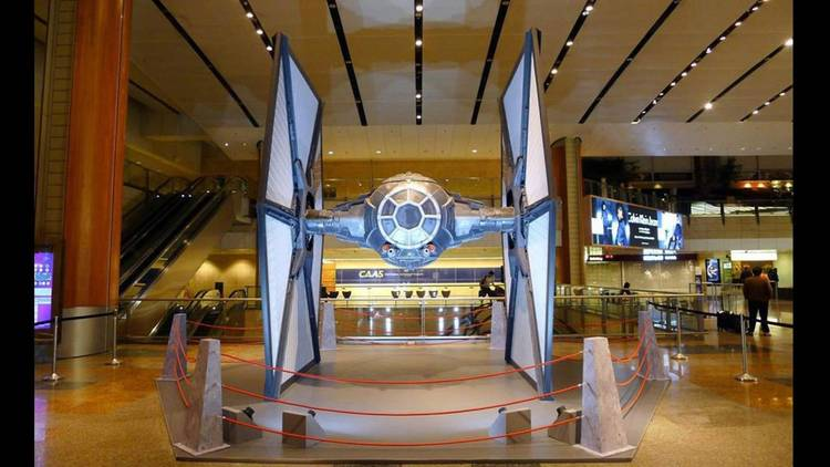 Full-Sized X-Wing Is Being Showcased At Singapore Airport