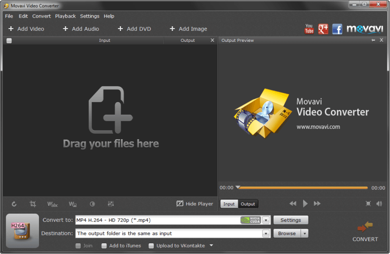 Converting MKV to MP4 to Share Online with the Movavi Video