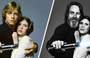 Star Wars Characters Then and Now