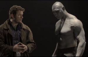 Funny Screen Test for 'Guardians of the Galaxy' Starring Chris Pratt and Dave Bautista