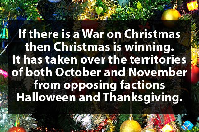Shower Thoughts About Christmas