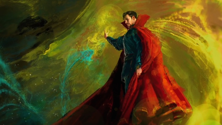 Doctor Strange art