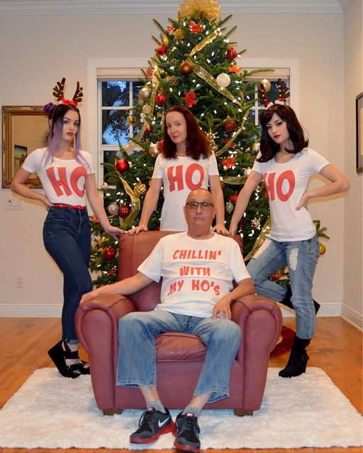 Internet Is Not Happy About This Family's Christmas Photo