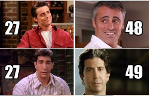 """""""Friends"""" Cast Now And Then"""