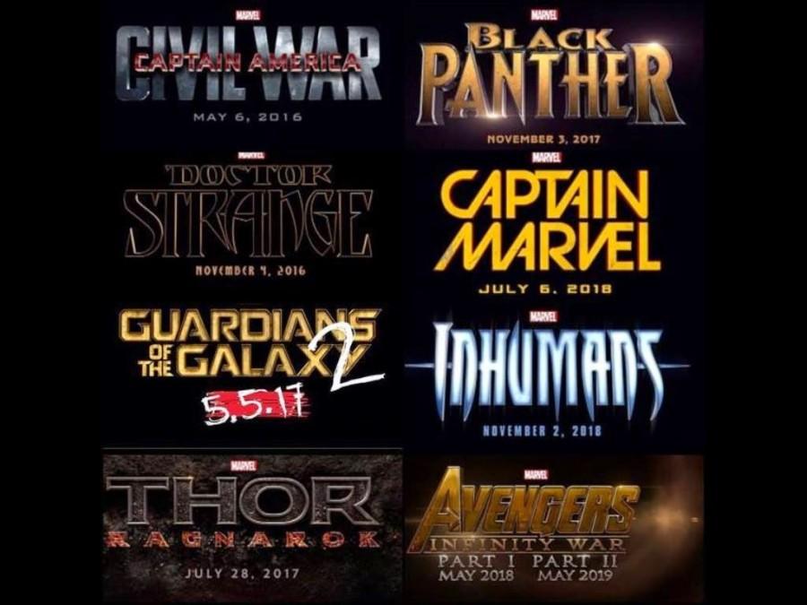 Marvel Phase Three Films