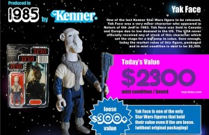 STAR WARS Infographic Shows How Much Your Old Toys Worth
