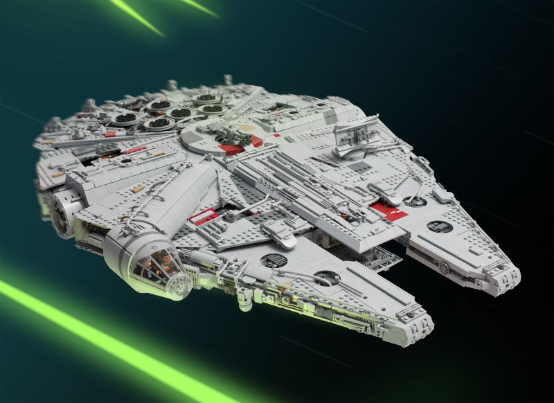 Best LEGO Millennium Falcon Ever