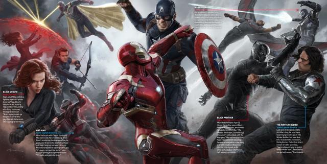 Captain America: Civil War concept art