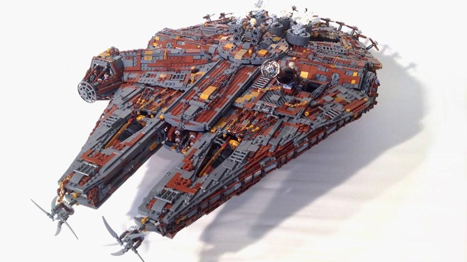 STEAMPUNK LEGO MILLENNIUM FALCON