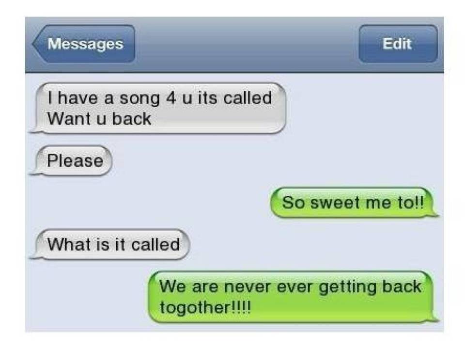 Humiliating Text Replies From EX