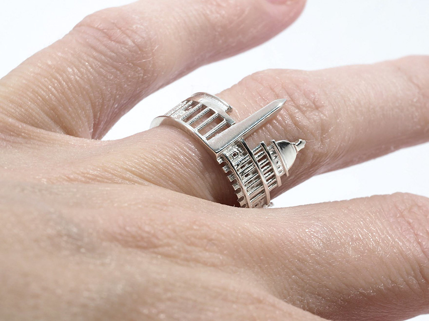 Now You Can Wear Your Beloved Cities in Rings