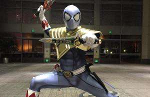 Spider-Man Mashed Up Into Power Ranger Cosplay