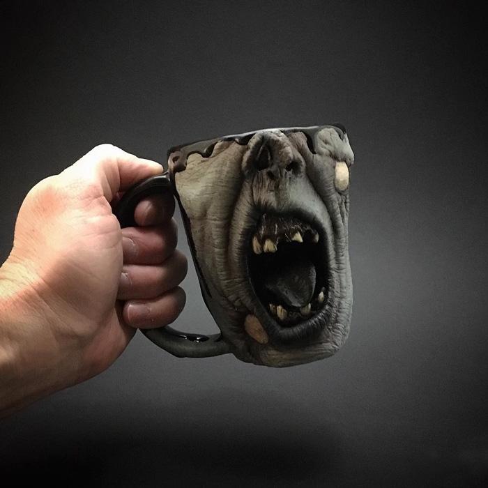Zombie Head Mugs