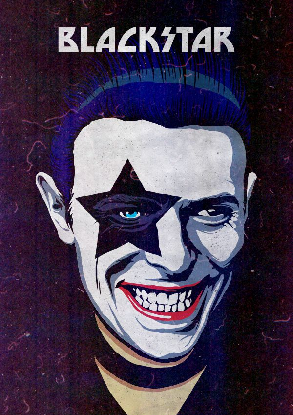 David Bowie and Famous Pop Culture Characters