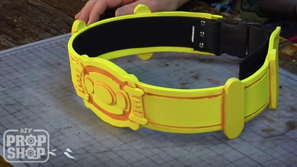 Utility Belt From Tim Burton's BATMAN