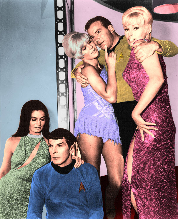 STAR TREK Series Rare Behind-the-Scenes Set Photos