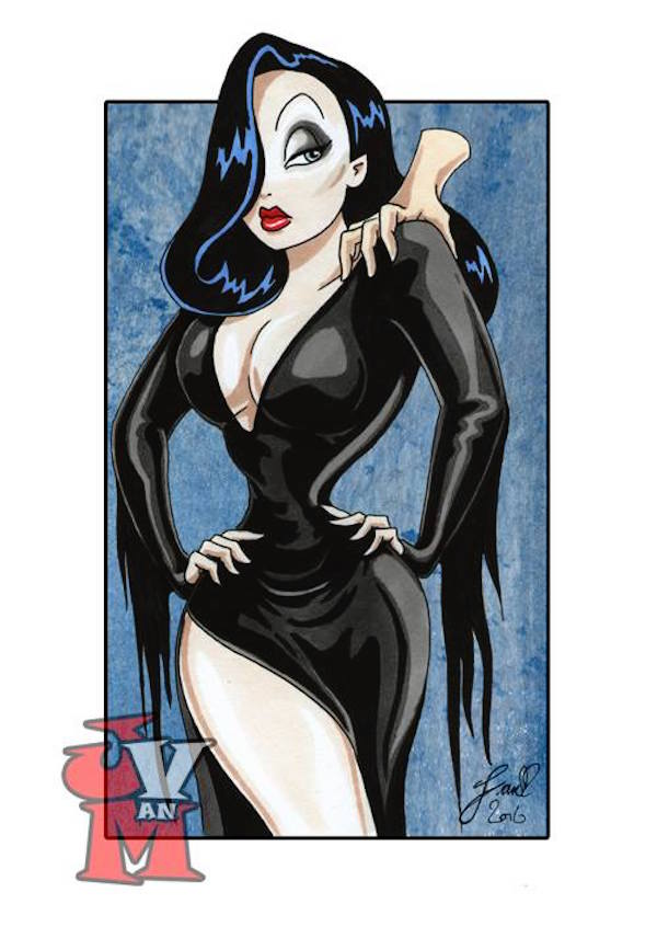 Jessica Rabbit Cosplays Classic Heroes and Villains in Fun Art Series