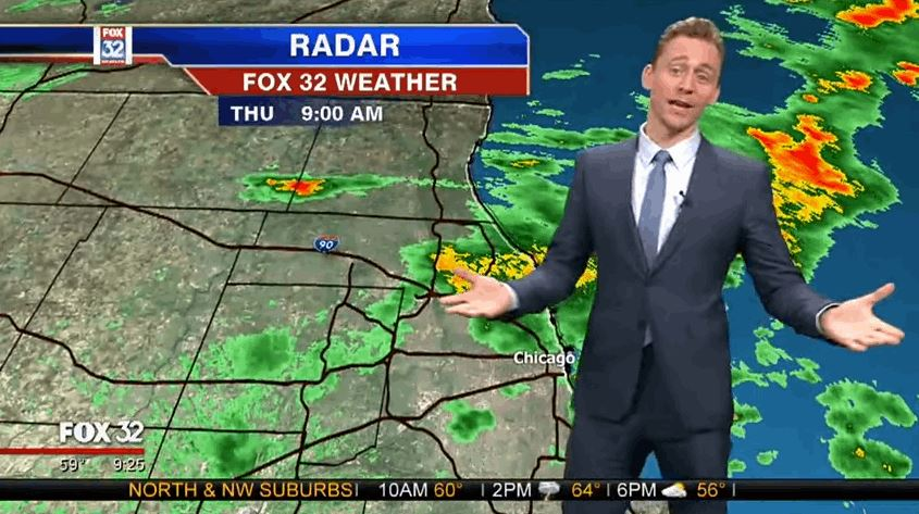 Loki Does a Weather Report