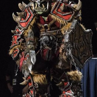 Brilliant WORLD OF WARCRAFT Orc Cosplay (1)