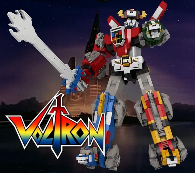 VOLTRON LEGO Playset
