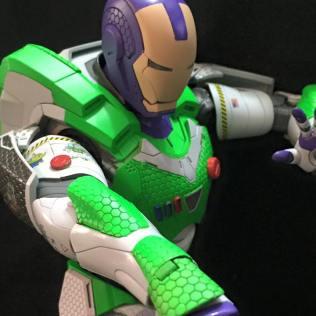 Buzz Lightyear and Iron Man Mashup Action Figure