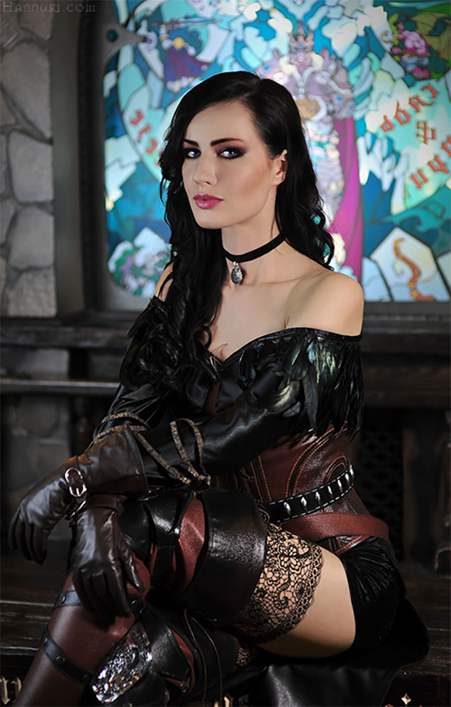 The Witcher 3's Yennefer Cosplay