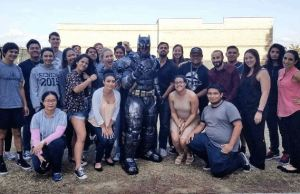 Cosplaying as Batman