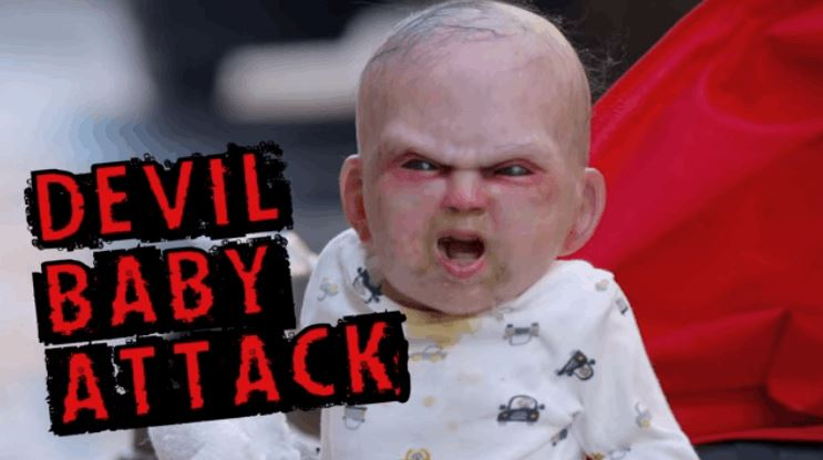 Devil Baby In New York City Terrifying Pedestrians