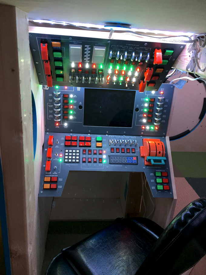 Incredible Spaceship Control Room Bed
