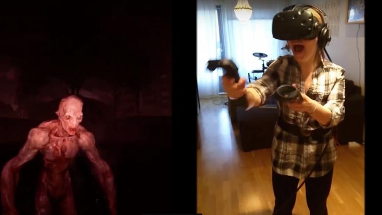 Horror VR Shooter Game