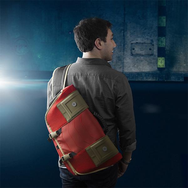 Stark Industries Messenger Bag With Arc Reactor